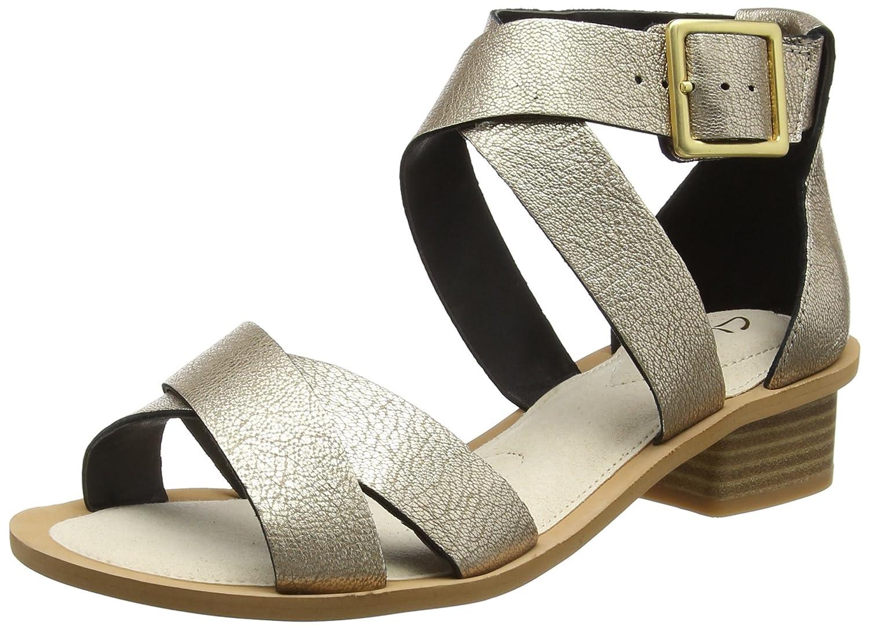 353541ea9d11 Clarks Women s Barley Belle Wedge Heels Sandals  Amazon.co.uk  Shoes ...