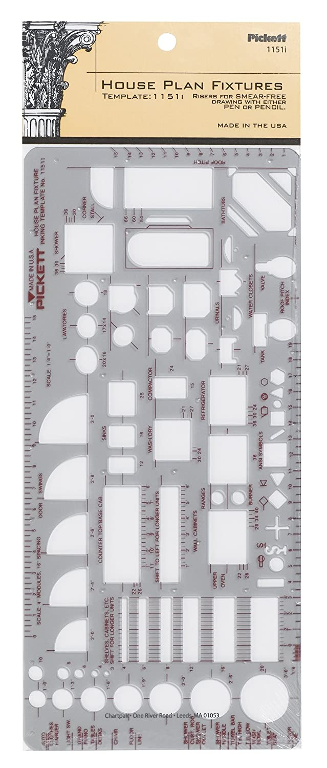 Pickett House Furniture Indicator Template (111PI)