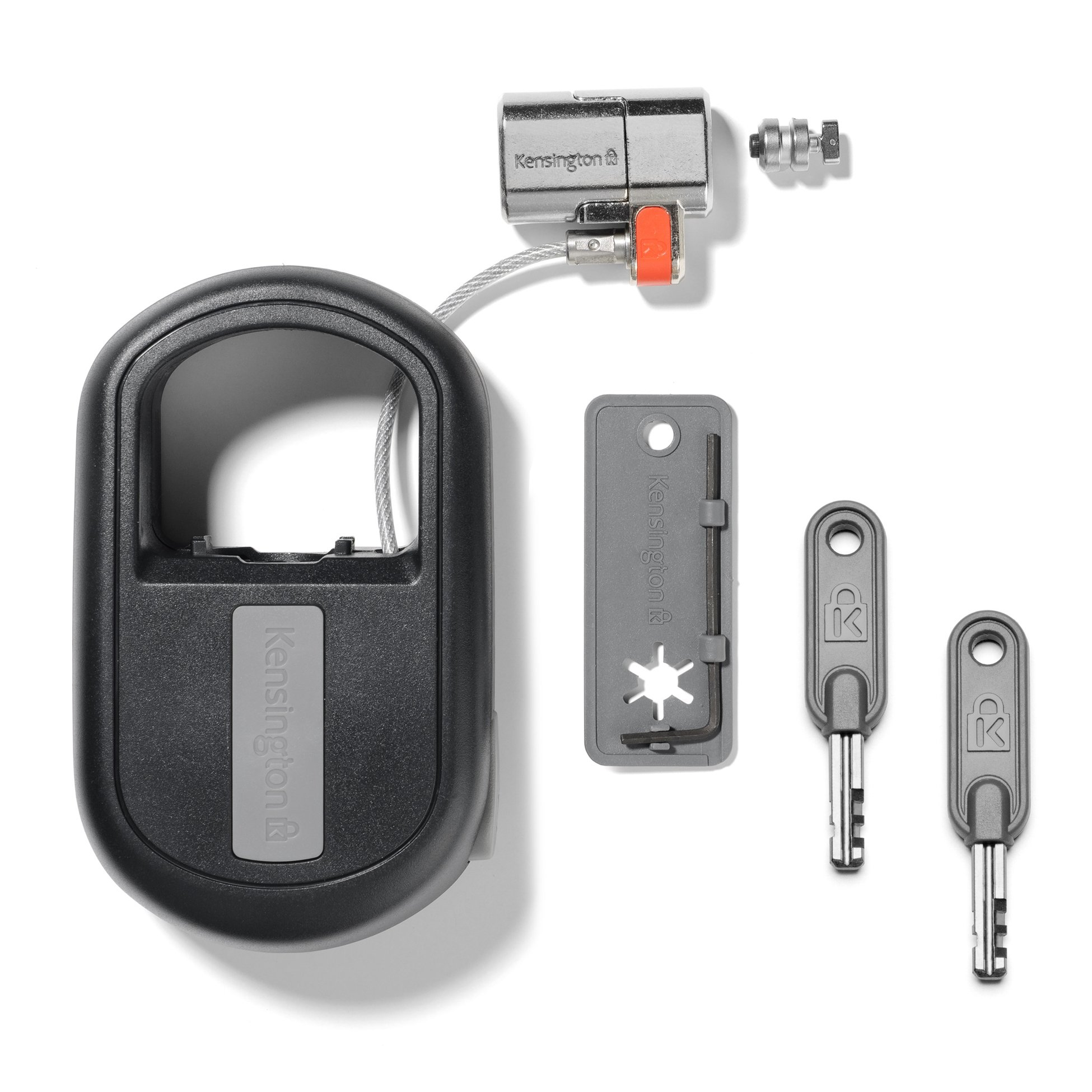 Kensington ClickSafe Keyed Retractable Portable Laptop Lock (K64955WW)