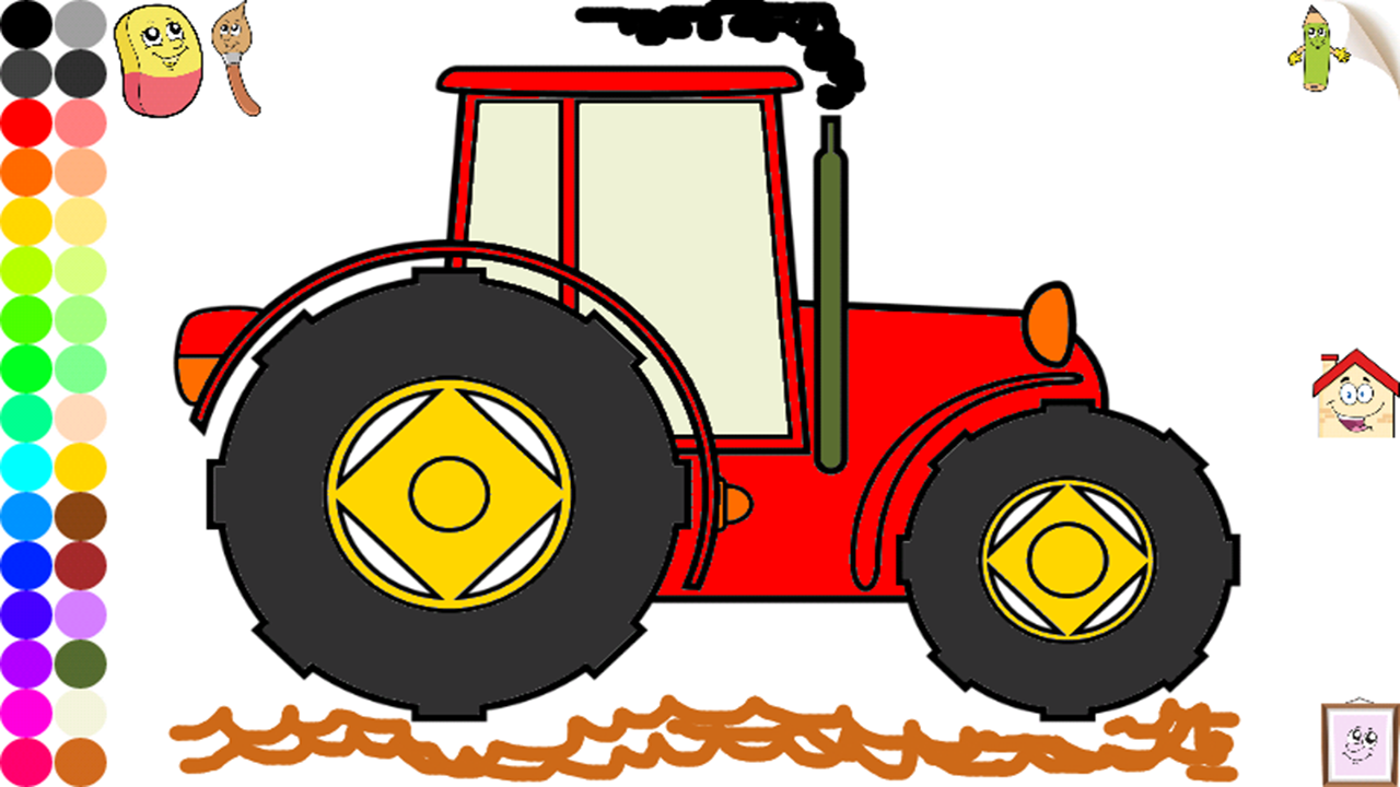 Amazon.com: Vehicles and Cars Coloring Pages for Toddlers and Kids ...