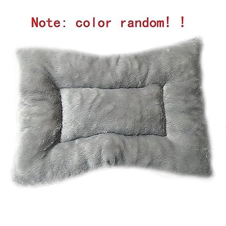 Color Aleatorio Perros de Cama Mantas Gato Mats Invierno Cama Caliente Para el Animal Doméstico (