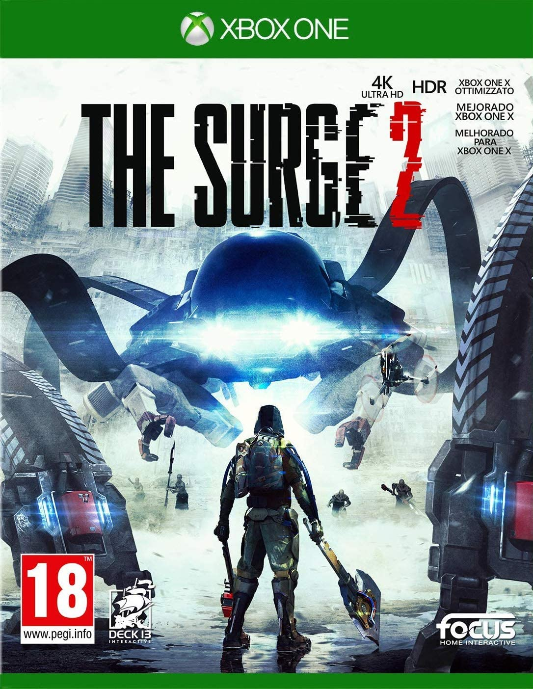The Surge 2 (PS4): Amazon.es: Videojuegos