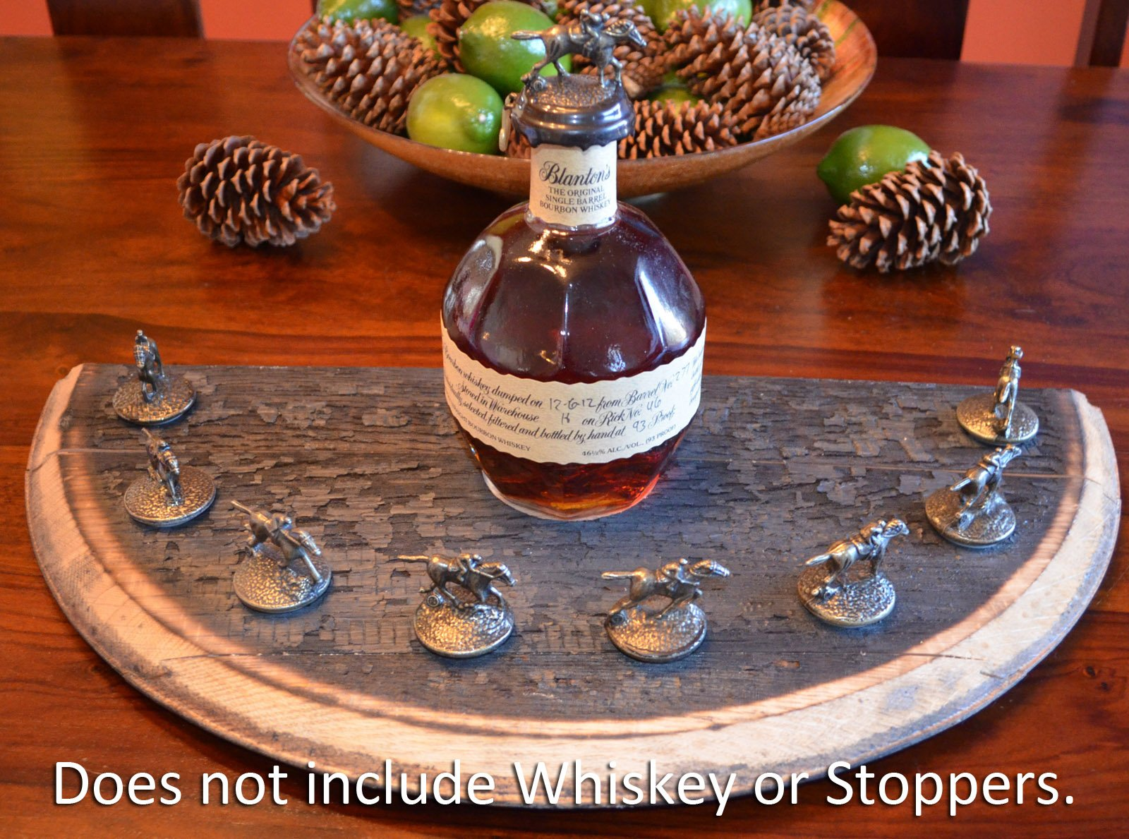 Blanton's Bourbon Whiskey Bottle Cork Stopper Display - Limited by Tiger Imports