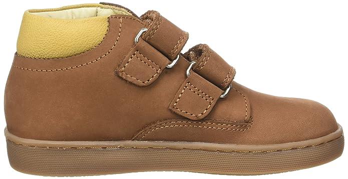Marron 28 Eu Aster Siroad Sneaker A Collo Alto Bambino ( Chataigne) Nuovo Scarpe 8GFaM