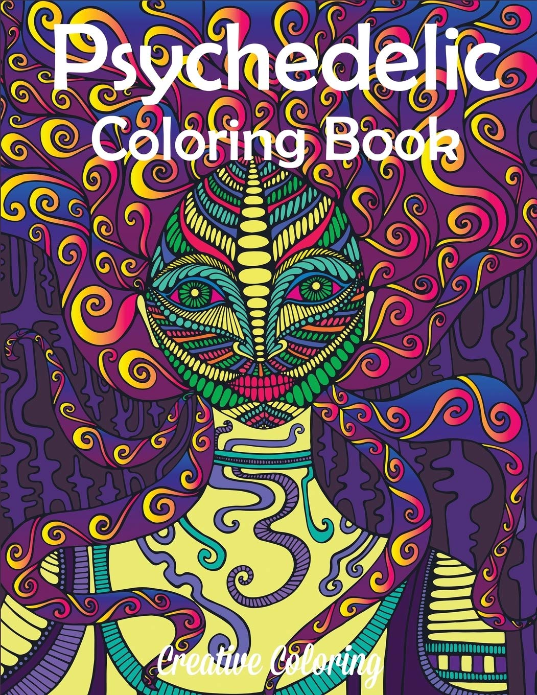- Amazon.com: Psychedelic Coloring Book: Adult Coloring Book Of