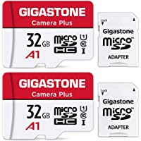 Gigastone 32GB 2-Pack Micro SD Card, Camera Plus, Nintendo-Switch Compatible, High Speed 90MB/s, Full HD Video Recording…