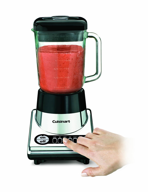 Cuisinart smartpower duet blender and food processor - Amazon Com Cuisinart Powerblend Duet Bfp 10ch Blender Food Processor Chrome Black Electric Countertop Blenders Kitchen Dining