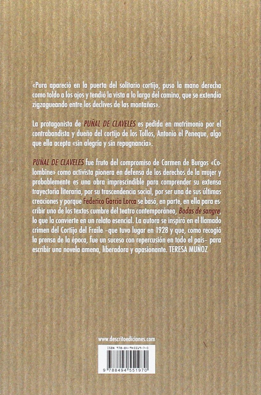 Puñal de claveles (Narrativa): Amazon.es: De Burgos Segui, Carmen ...
