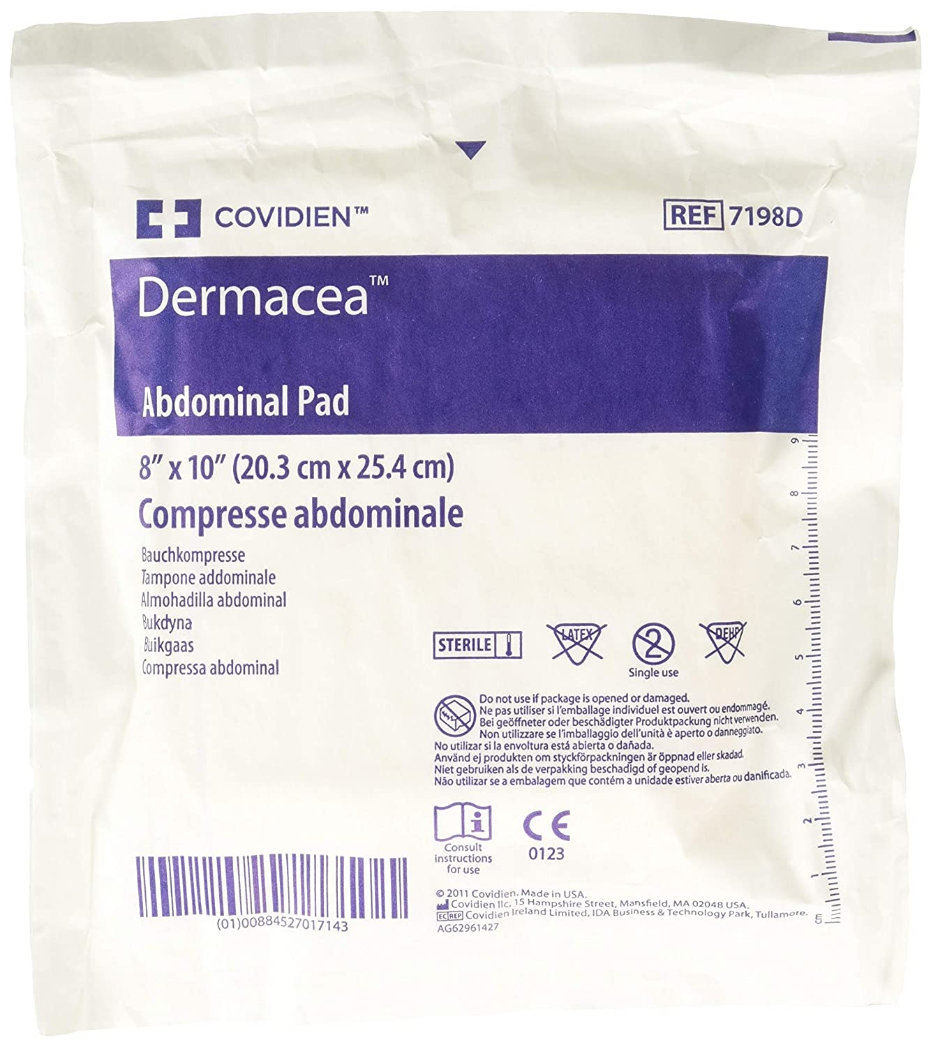 Amazon Kendall ABD Surgical Dressing 8x10 18 BX Health Personal Care