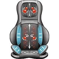 Comfier Shiatsu Masajeador de Espalda, Cuello y Hombros - Cojín de Masajeador eléctrico con Amasamiento de 2D / 3D, Función Calor y…