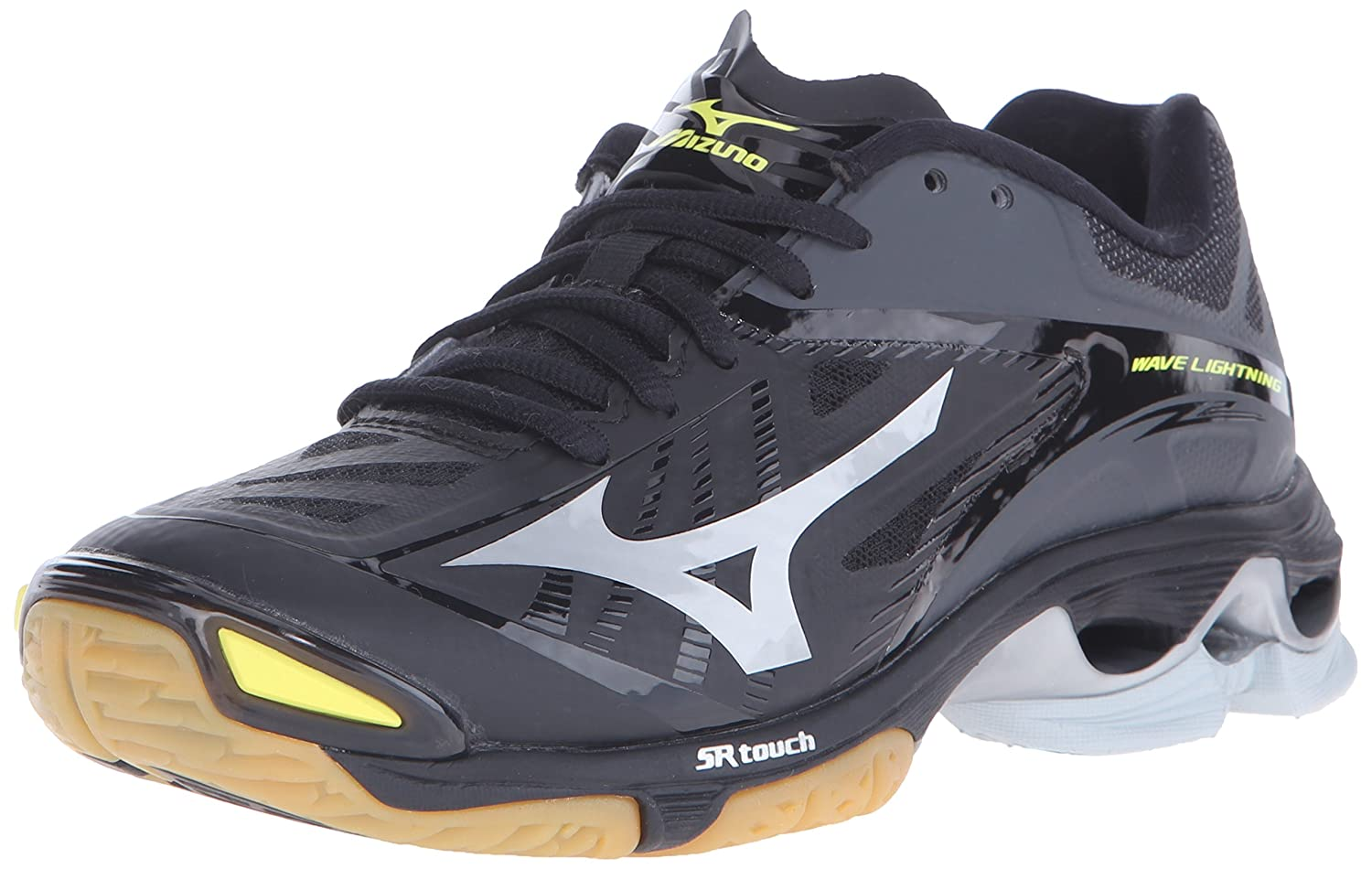 Mizuno Women's Wave Lightning Z2 Volleyball Shoe B01AUPS3CG 6.5 D US|Black/Silver