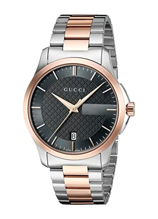b7004a327c4 Amazon.com  Gucci  G-Timelss  Quartz Stainless Steel Silver-Toned ...