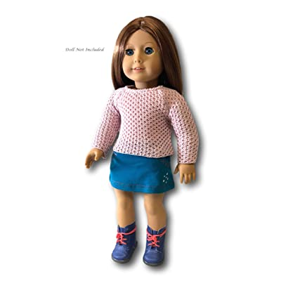 """American Girl Truly Me Sparkle Sweater Outfit for 18"""" Dolls Tm (Doll Not Included), Brown: Toys & Games"""
