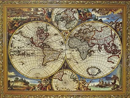Buy 1000 pcs world map jigsaw puzzles intellectual games for adults 1000 pcs world map jigsaw puzzles intellectual games for adults and kids gumiabroncs Image collections