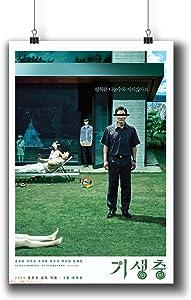Pentagonwork Parasite 기생충 Korean Movie Poster 11.7x16.5 A3 Prints w/Stickers 2019 Film, Song Kang-ho Lee Sun-kyun, 1231-001