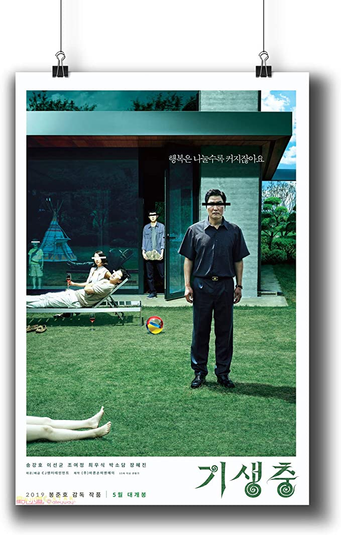 PARASITE Korean MOVIE POSTER Art Print Wall Decor for Home Office A2 A3 A6 SIZE