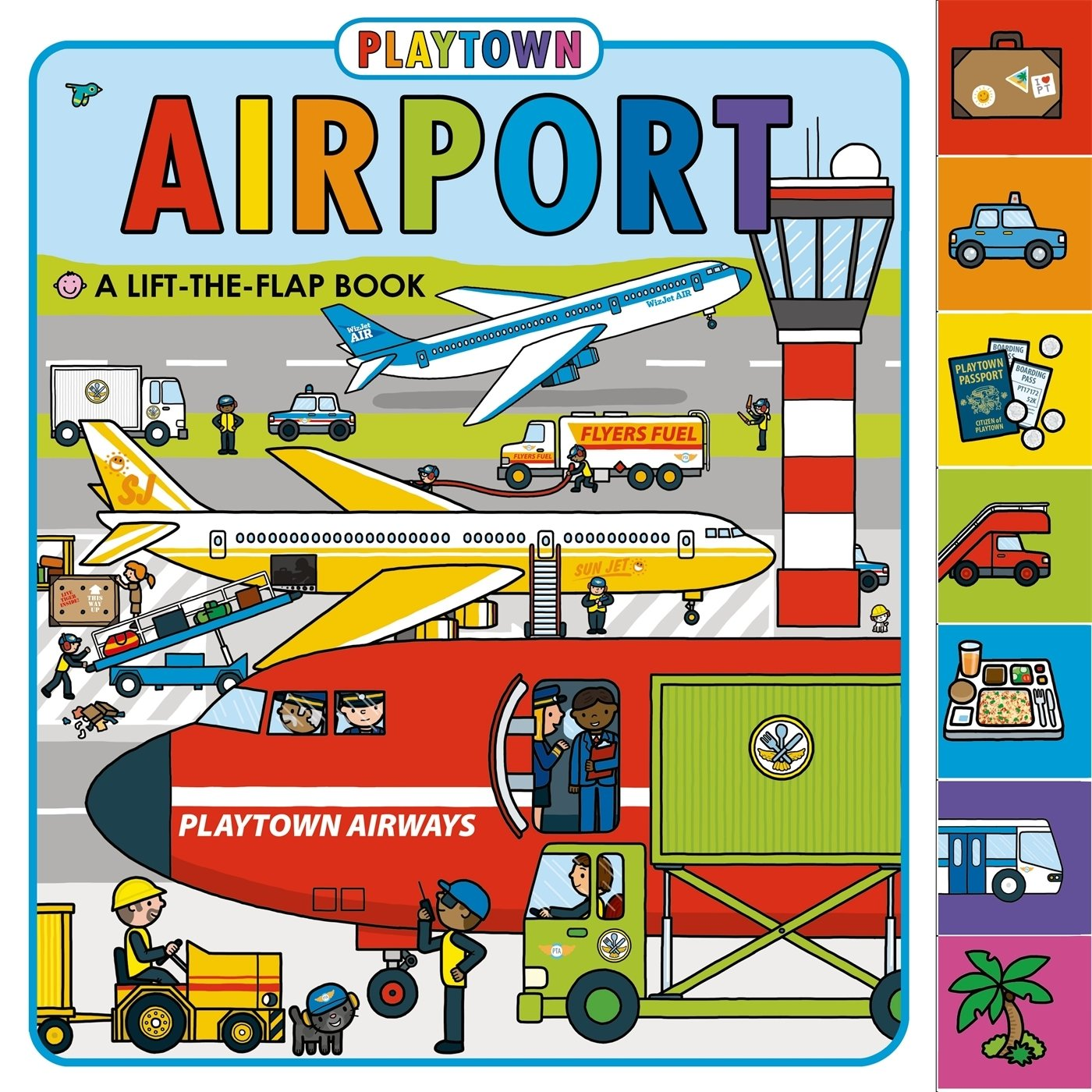 Playtown Airport revised Lift Flap