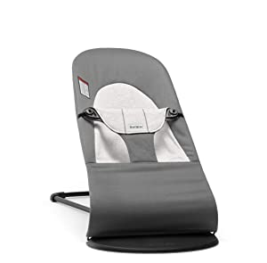 BABYBJÖRN Bouncer Balance Soft, Cotton/Jersey, Dark Gray/Gray