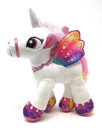 Amazon Com Gabitoy Set Of 4 Colorful Unicorn With Wings Plush