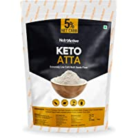 NutroActive Keto Atta (Net Carb 5%) Extremely Low Carb Flour - 750gm