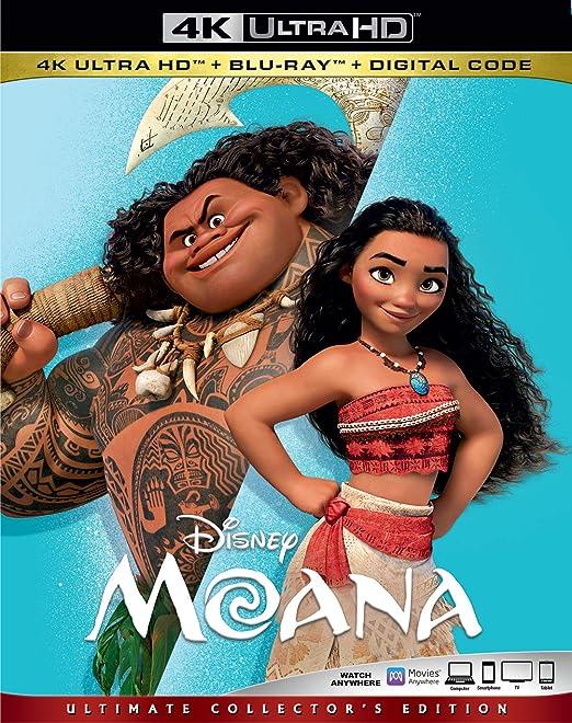 Moana [USA] [Blu-ray]: Amazon.es