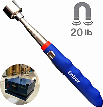 3 Telescopic Mirror Magnet Clamp Tool for Boat Mechanic