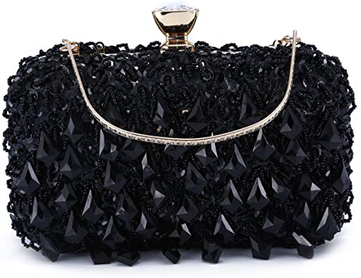 Crystal Clutch Purse Rhinestones Evening Tote Bag Party Wedding Purses for Women