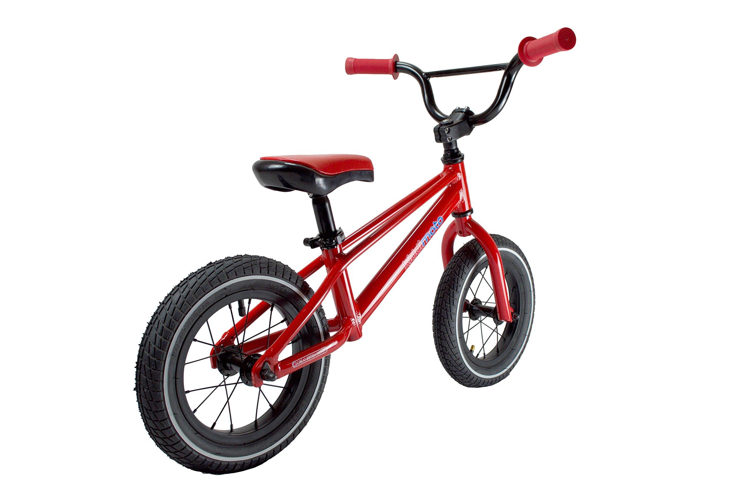 Kiddimoto BMX Running/Balance Bike, Red by Kiddimoto (Image #3)
