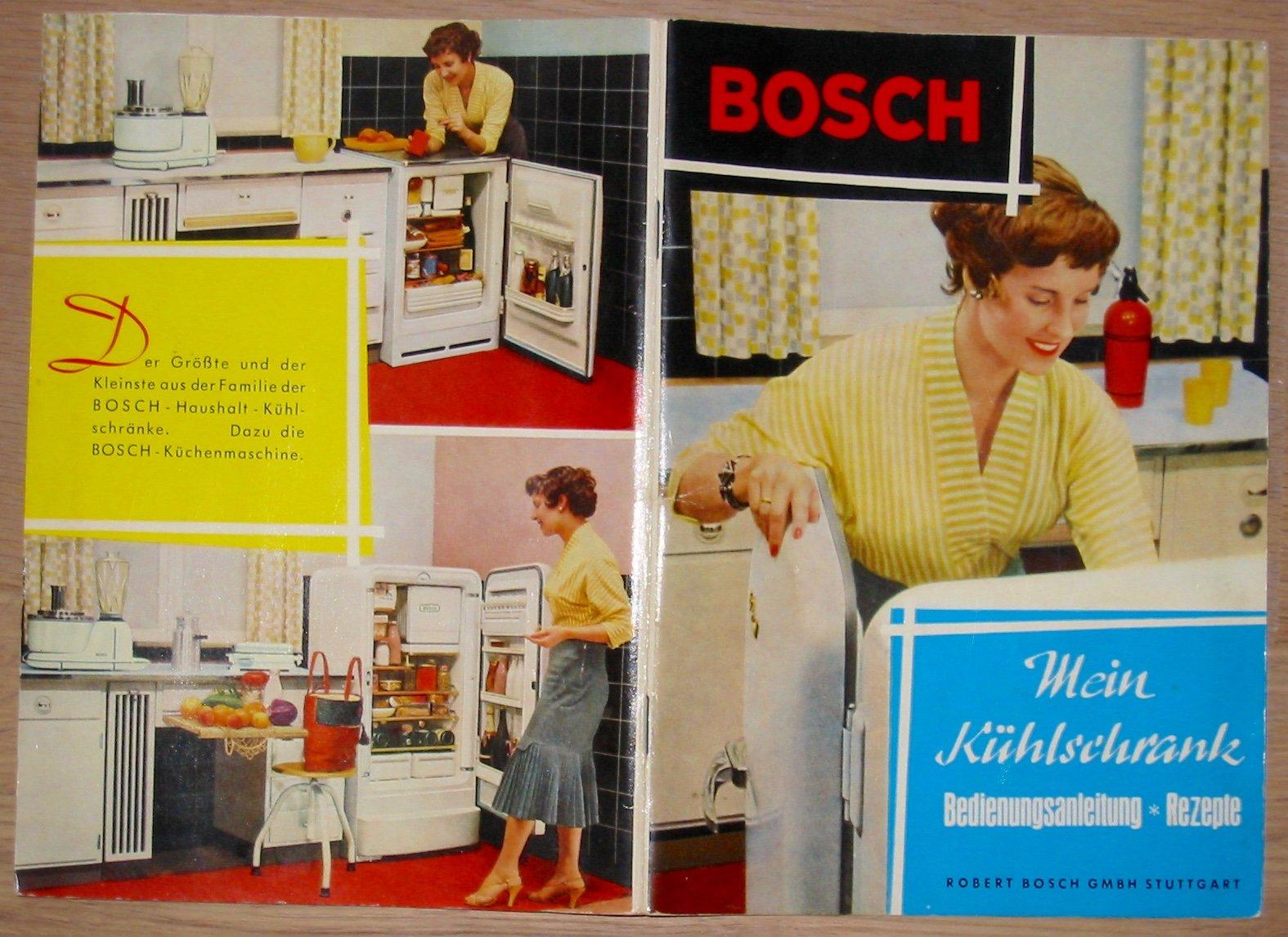 Bosch Kühlschrank Bedienungsanleitung : Bosch mein kühlschrank bedienungsanleitung und rezepte: amazon.de