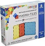 Amazon Com Magna Tiles 32 Piece Clear Colors Set The