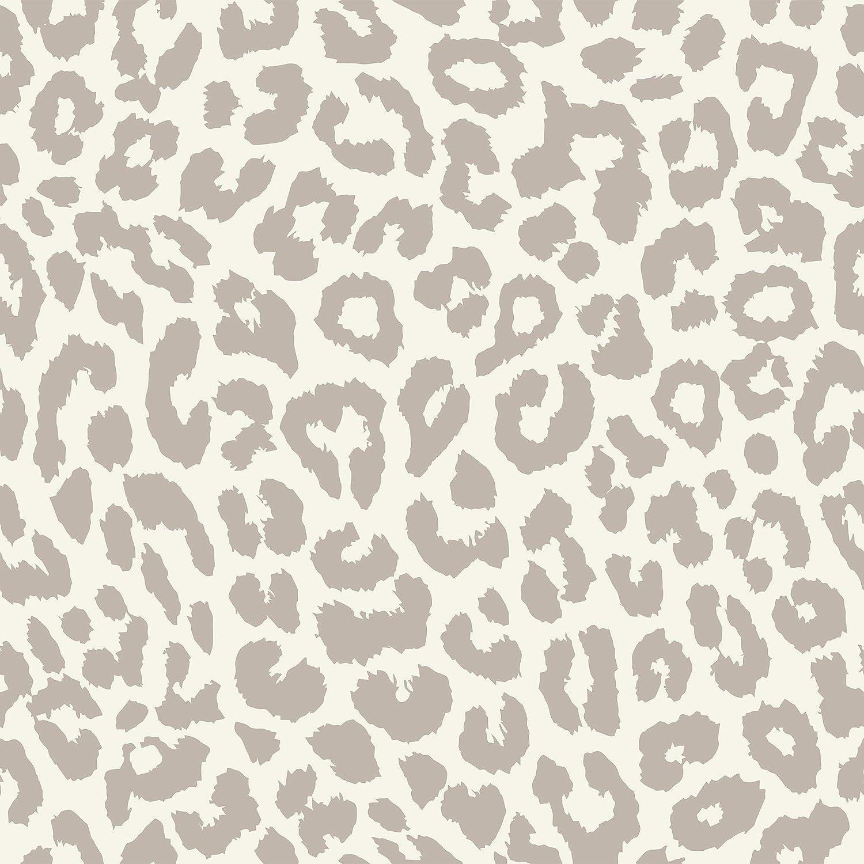 Wallsbyme Peel And Stick Tan Animal Print Fabric Removable Wallpaper 0513 2ft X 4ft 61x122cm Amazon Com