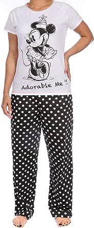 Disney Pijama para mujer de Minnie Mouse: Amazon.es: Ropa y accesorios