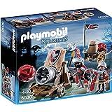 Playmobil 6038 - Jeu de Construction - Chevalier Aigle + Canon Géant