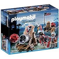 Playmobil - 6038 - Jeu de Construction - Chevalier Aigle + Canon Géant