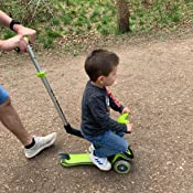 Globber Evo 5 In 1 Children S Scooter Ride On With Light