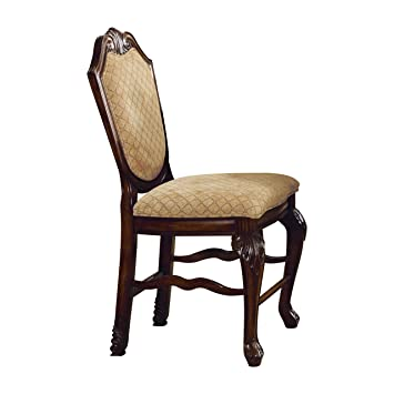 ACME Furniture 64084 Chateau De Ville Espresso Counter Height Chair (Set Of  2)