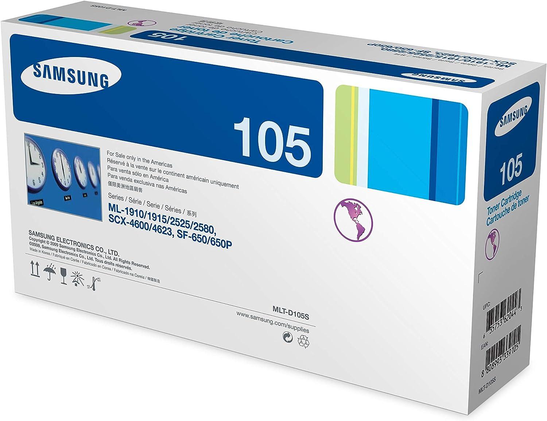 NEW Genuine Samsung MLT-D105S 105S Black Toner Cartridge Open OEM