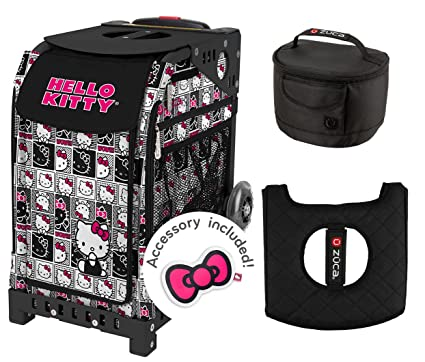 1d1adf4276 Image Unavailable. Image not available for. Color  Zuca Hello Kitty  Masterpiece Bag with Black Frame