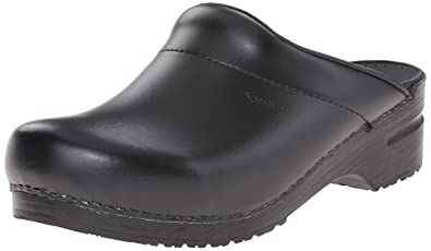 Sanita Christian open, Herren Clogs, Schwarz (Black 2), 44 EU
