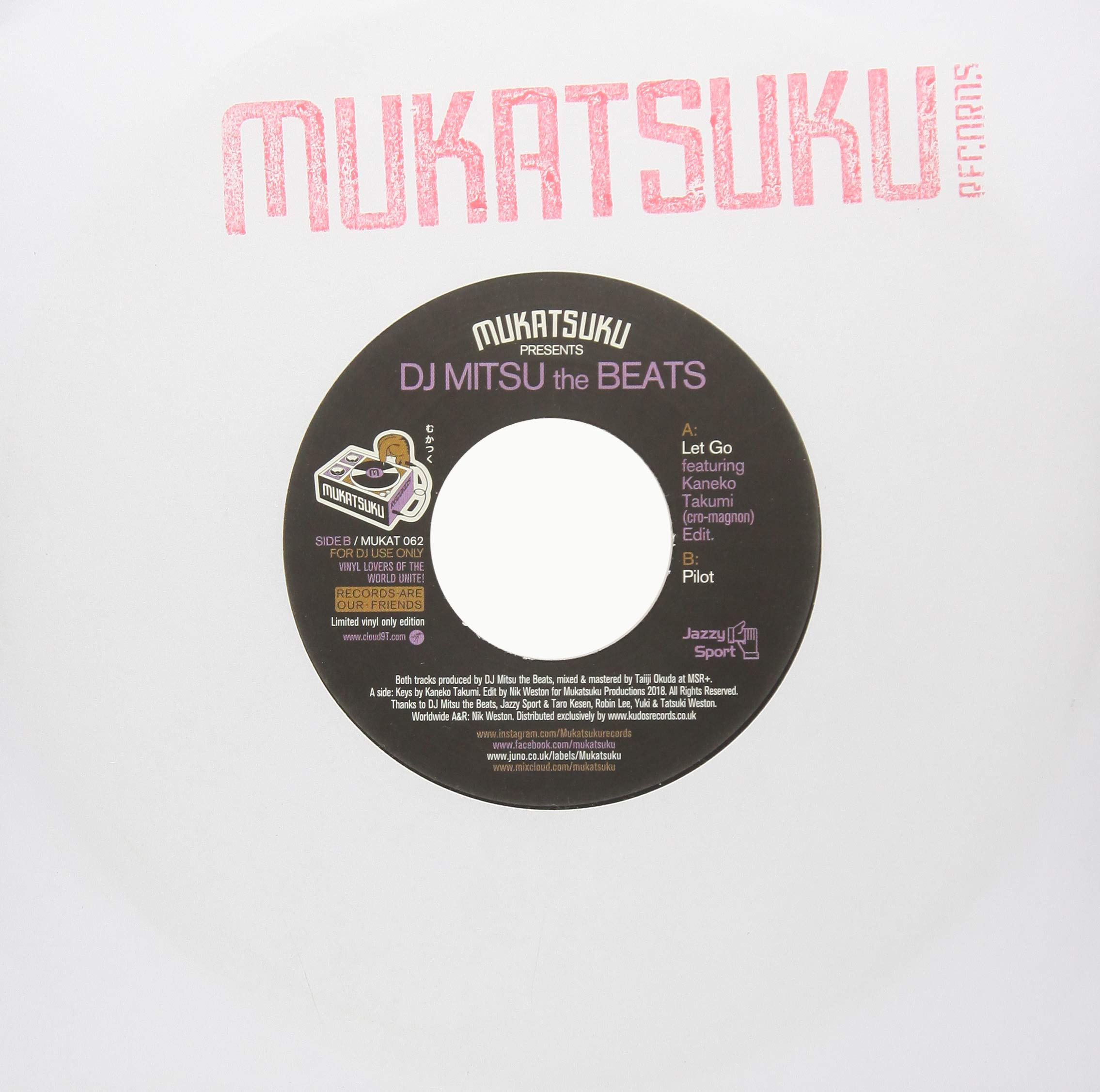 Vinilo : DJ Mitsu the Beats - Let Go /  Pilot (United Kingdom - Import)