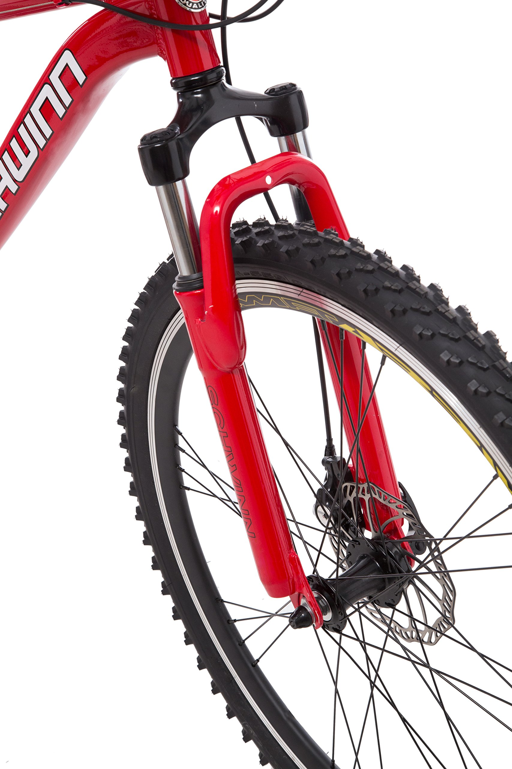 Schwinn Protocol 1.0 Men's Dual-Suspension Mountain Bike (26-Inch Wheels, Red) by Schwinn (Image #3)