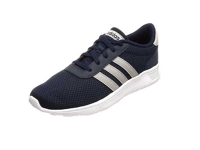 adidas Lite Racer Schuhe Herren blau mit weißen Streifen (Maruni/Gridos/Ftwbla)