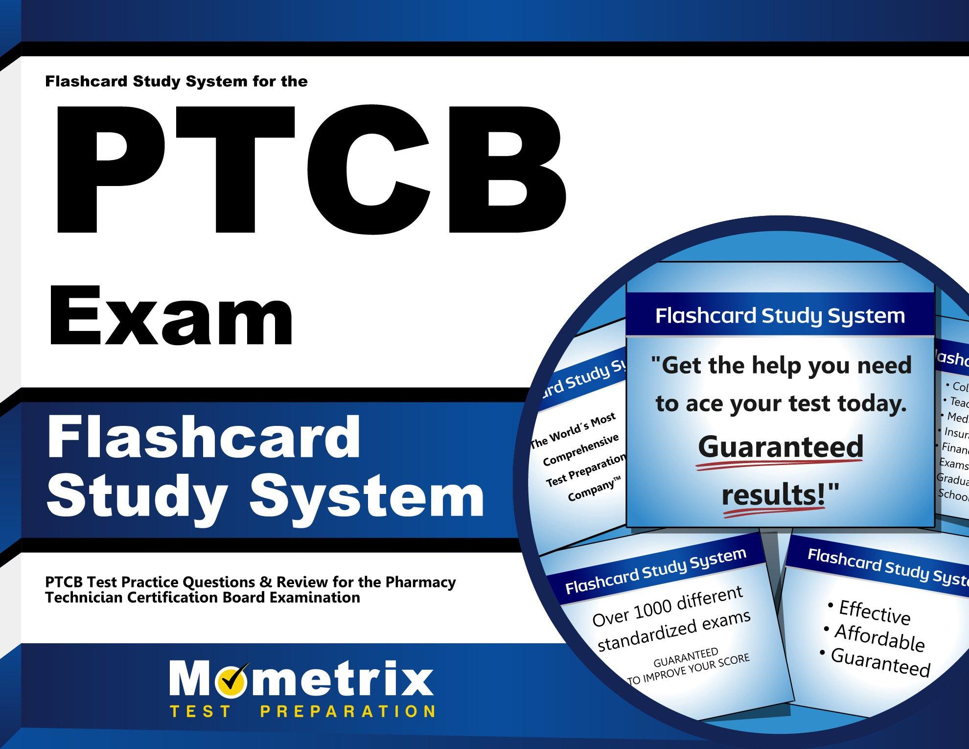 Flashcard Study System PTCB Exam product image