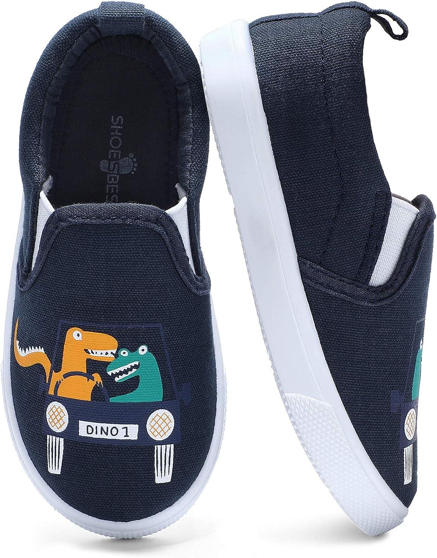DREAM PAIRS Toddler Boys Girl Slip On Casual Sneaker Indoor Outdoor Walking Shoe
