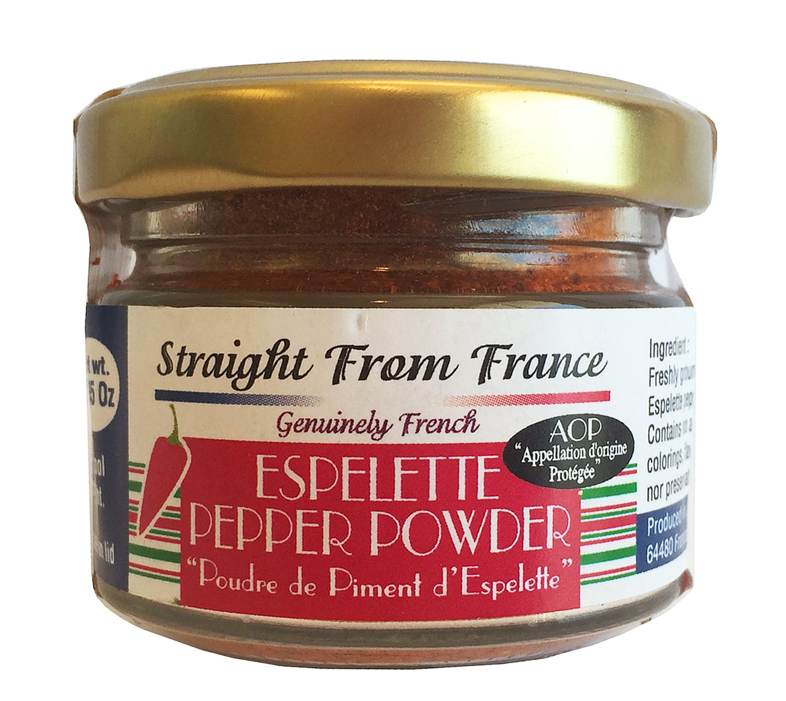 Straight From France - Espelette Pepper powder from France 1.06oz 30g