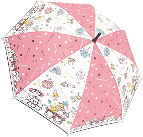 Disney Tsum Tsum Umbrella Cute From Japan 55cm 35056