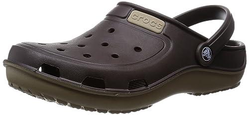 Crocs Duet Wave, Unisex Adults' Clogs, Brown (Espresso/Khaki),