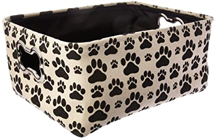 Winifred u0026 Lily Pet Toy and Accessory Storage Bin Organizer Storage Basket for Pet Toys  sc 1 st  Amazon.com & Amazon.com: Winifred u0026 Lily Pet Toy and Accessory Storage Bin ...