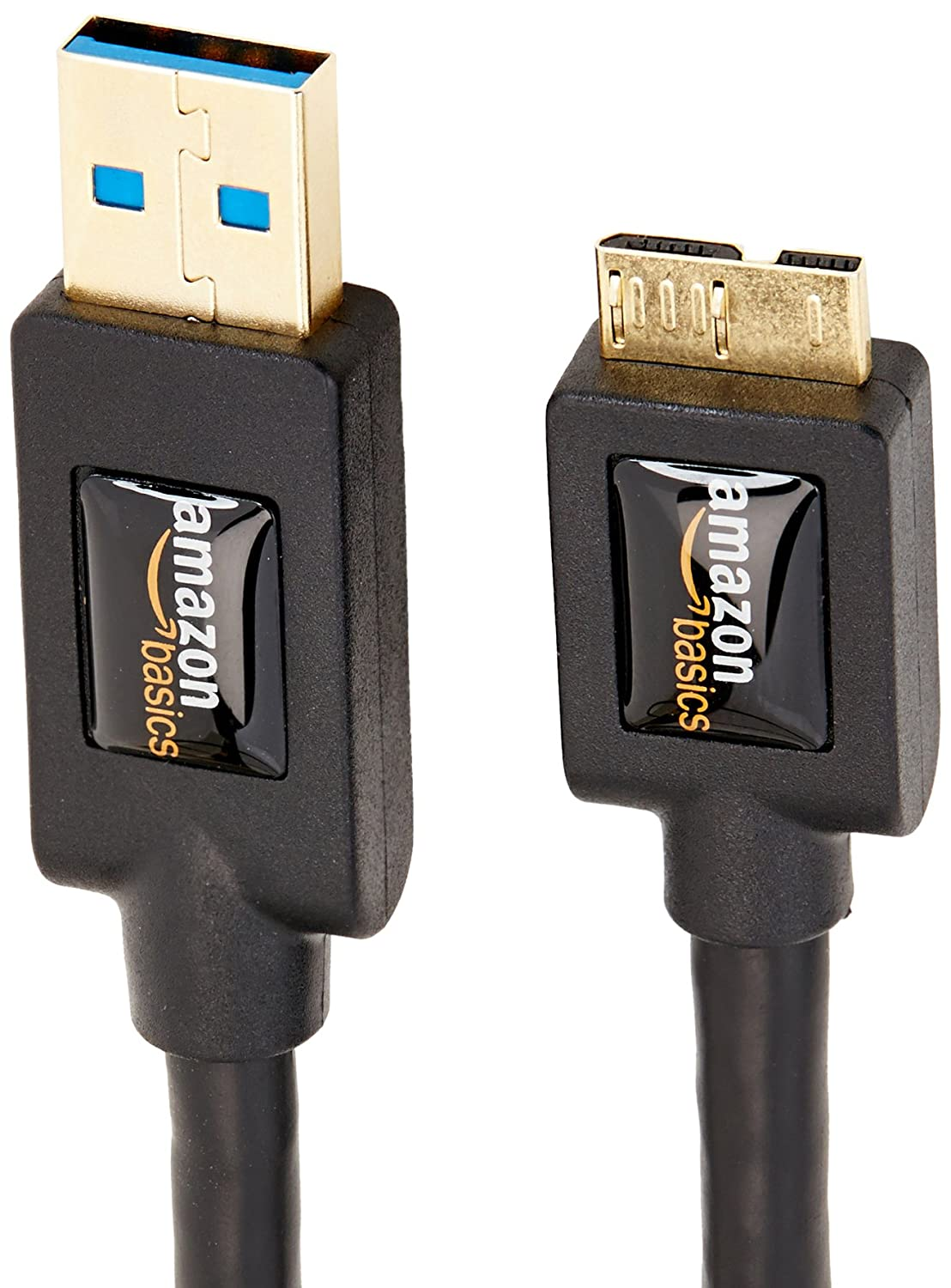 Amazonbasics Usb 30 Cable A Male To Micro B 3 Feet 09 Meters Connector Pinout Diagram Besides Security Camera Wiring Black Electronics