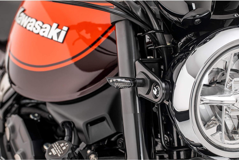 Shinyo Motorrad Blinker E Geprüft Led Blinkerpaar Kite M8 Schwarz Getöntes Glas Auto